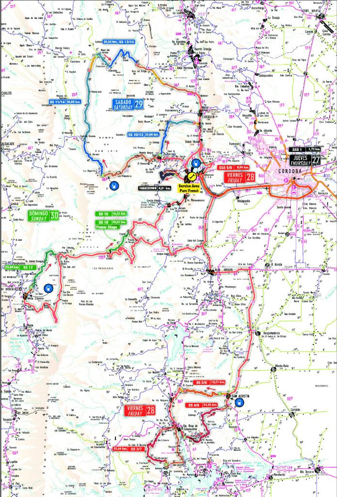 WRC   Rally d'Argentina 2017 - Anteprima 1