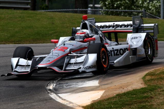 Indycar | Barber: Power in pole nella tripletta Penske