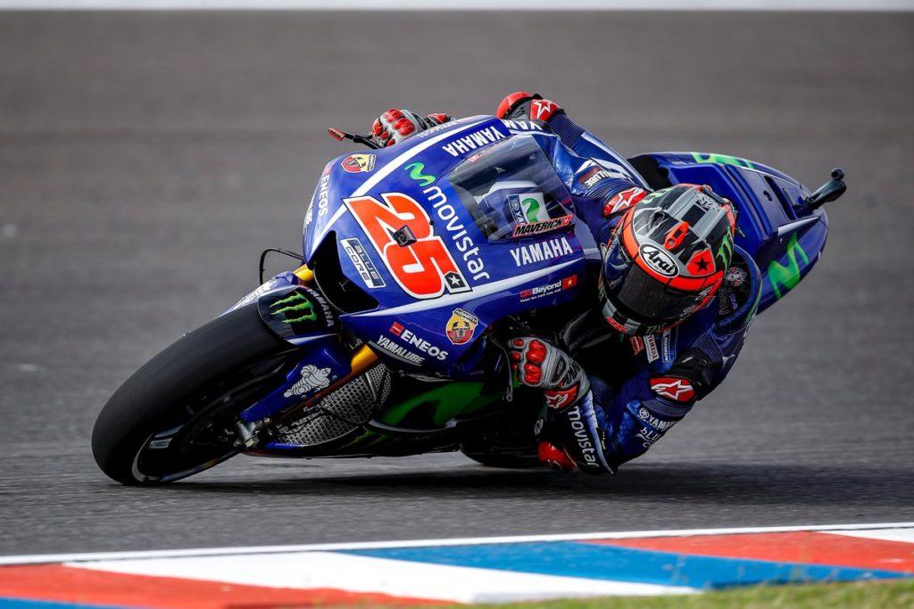 MotoGP | Argentina: Viñales precede Rossi, Márquez a terra
