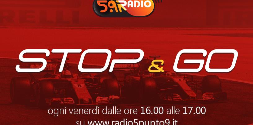 """<span class=""""entry-title-primary"""">""""Stop&Go"""" live venerdì 19 maggio alle ore 16.00 su Radio 5.9</span> <span class=""""entry-subtitle"""">La trasmissione di Passione a 300 all'ora in diretta fino alle 17</span>"""
