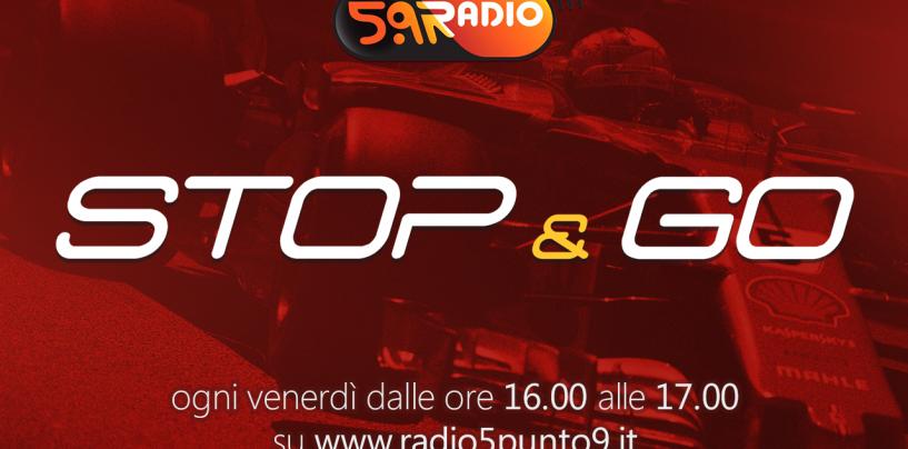 """<span class=""""entry-title-primary"""">""""Stop&Go"""" live venerdì 26 maggio alle ore 16.00 su Radio 5.9</span> <span class=""""entry-subtitle"""">La trasmissione di Passione a 300 all'ora in diretta fino alle 17</span>"""