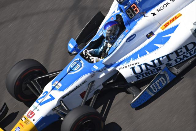 Indycar | Miglior tempo per Andretti nel primo giorno di libere