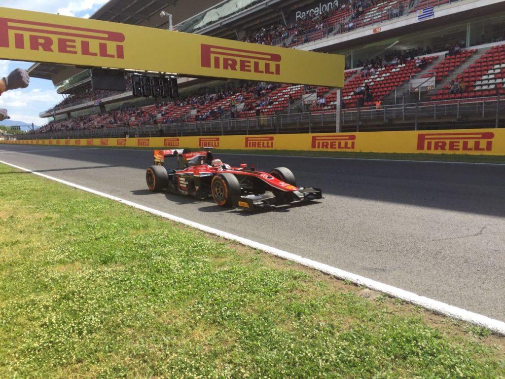 F2 | Matsushita vince la sprint race a Barcellona