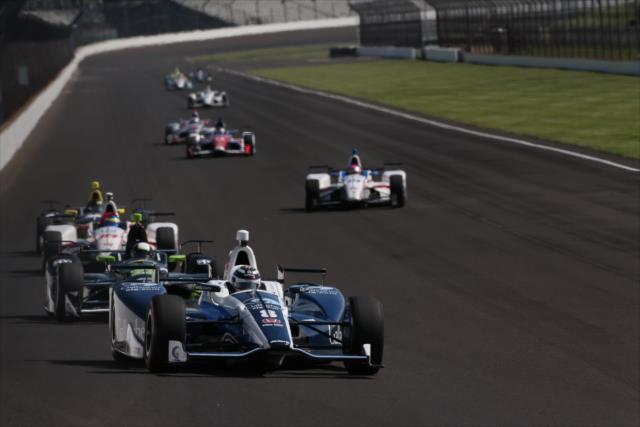 Indycar | Miglior tempo di Chilton nelle libere 8
