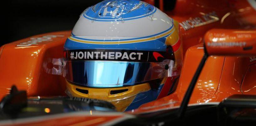 """<span class=""""entry-title-primary"""">La sai l'ultima? Alonso entra in una McLaren... e bang! Si rompe qualcosa!</span> <span class=""""entry-subtitle"""">Un livello di ridicolo che non si vedeva da tanto tempo</span>"""