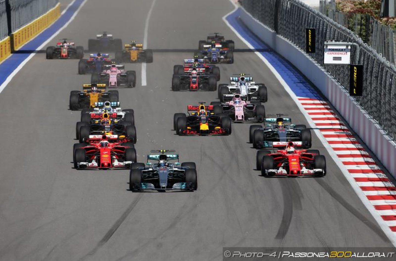 F1 | GP Russia 2017, la gara dei primi dieci