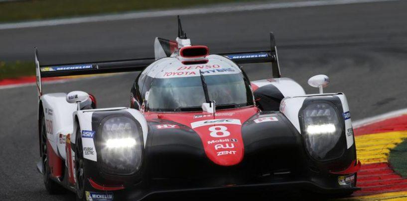 """<span class=""""entry-title-primary"""">WEC   Spa-Francorchamps: doppietta per Toyota e Ferrari</span> <span class=""""entry-subtitle"""">Vincono la TS050 #8 (grazie a due FCY) e la 488 #71</span>"""