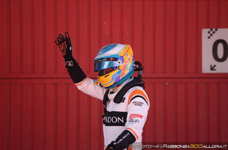 """Alonso: una questione di """"piede"""""""