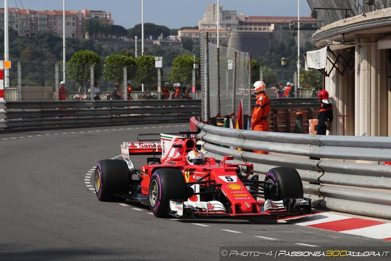 F1 | GP Monaco, Vettel sotto l'1:13 nella FP2
