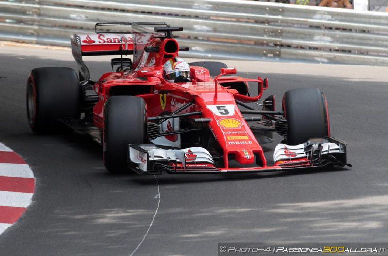 F1   GP Monaco, ancora Vettel nella FP3, doppietta Ferrari