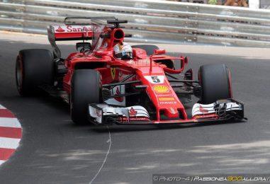 F1 | GP Monaco, ancora Vettel nella FP3, doppietta Ferrari
