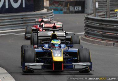 F2 | Monaco: sfortuna per Leclerc, Rowland ne approfitta