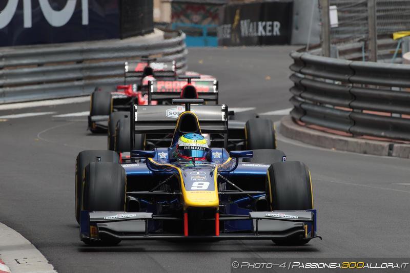 F2   Monaco: sfortuna per Leclerc, Rowland ne approfitta