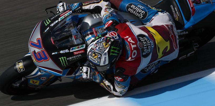 "<span class=""entry-title-primary"">Moto2 | GP Spagna: Alex Marquez in pole davanti a Morbidelli</span> <span class=""entry-subtitle"">Bene Pasini, quinto, e Bagnaia, sesto</span>"