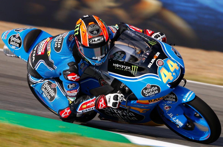 Moto3 | GP Spagna, Canet vince all'ultima curva su Fenati e Mir