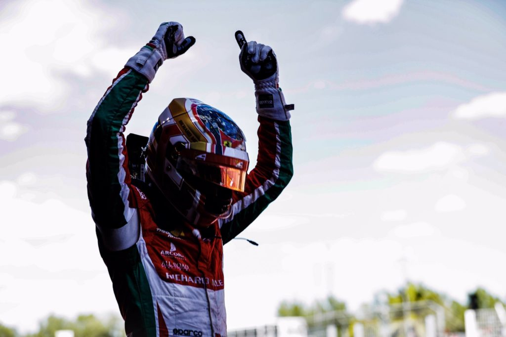 F2 | GP Spagna, Leclerc vince Gara 1 su Ghiotto e Rowland