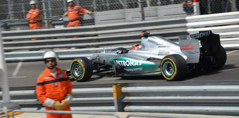 """<span class=""""entry-title-primary"""">26 maggio 2012: Monaco, un dito alzato, una pole negata ma incancellabile</span> <span class=""""entry-subtitle"""">L'ultima pole di Michael, non conteggiata ma per sempre sua</span>"""