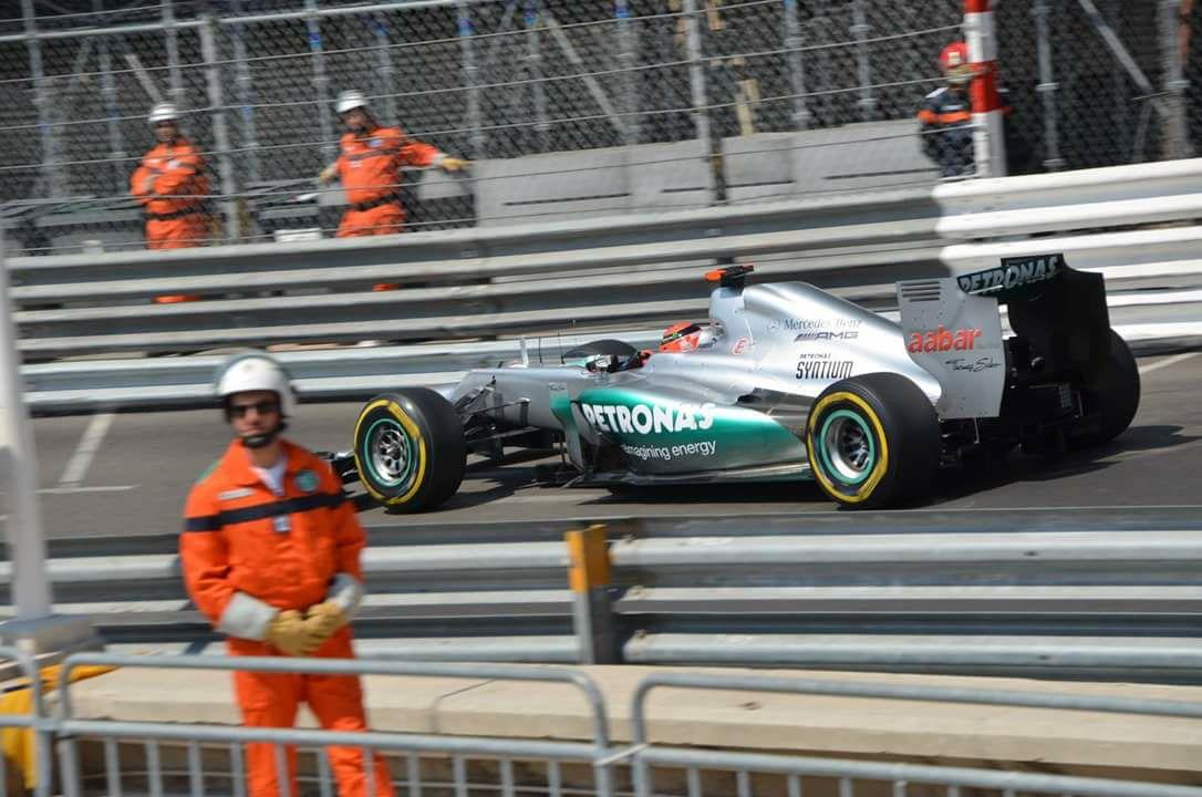 26 maggio 2012: Monaco, un dito alzato, una pole negata ma incancellabile