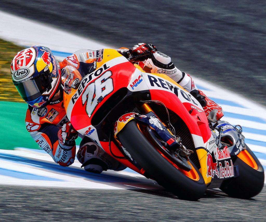 MotoGP   GP Spagna, Pedrosa domina su Marquez e un grande Lorenzo. Male Rossi, 10°