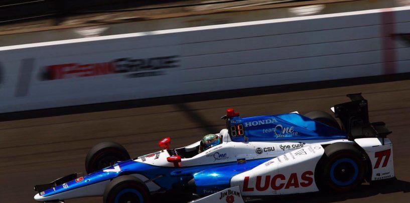 """<span class=""""entry-title-primary"""">Indycar   Jay Howard svetta nel quarto giorno di prove per la Indy 500</span> <span class=""""entry-subtitle"""">Oggi il Fast Friday in preparazione alle qualifiche</span>"""