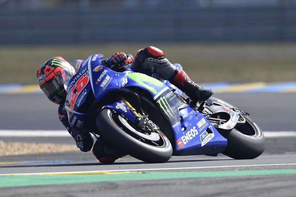 MotoGP   Francia: Vince Viñales, Rossi cade all'ultimo giro