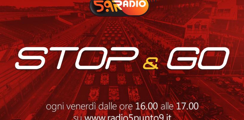 """<span class=""""entry-title-primary"""">""""Stop&Go"""" live venerdì 16 giugno alle ore 16.00 su Radio 5.9</span> <span class=""""entry-subtitle"""">La trasmissione di Passione a 300 all'ora in diretta fino alle 17</span>"""