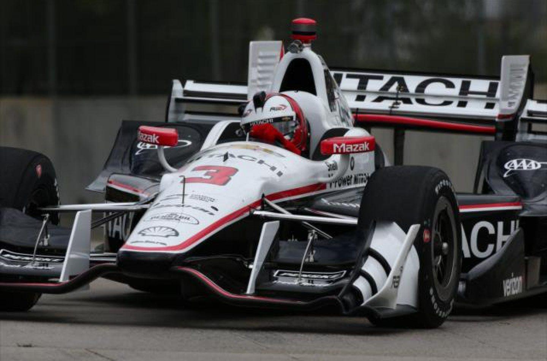 Indycar   Castroneves davanti a Rahal nelle libere 2 di Detroit