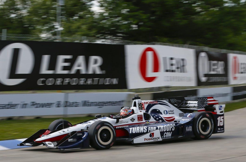 Indycar   Pole per Rahal in gara-1 a Detroit