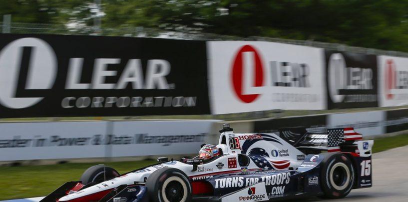 """<span class=""""entry-title-primary"""">Indycar   Pole per Rahal in gara-1 a Detroit</span> <span class=""""entry-subtitle"""">Tolto il miglior tempo a Castroneves, che sarà comunque in prima fila</span>"""