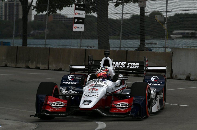 Indycar   Rahal domina gara-1 a Detroit