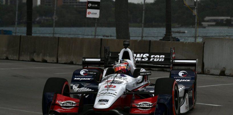 "<span class=""entry-title-primary"">Indycar   Rahal domina gara-1 a Detroit</span> <span class=""entry-subtitle"">Dixon e Hinchcliffe completano il podio</span>"