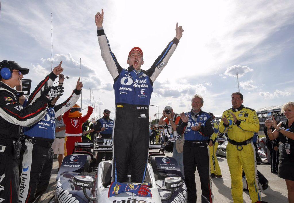 Indycar | Rahal centra il bis a Detroit