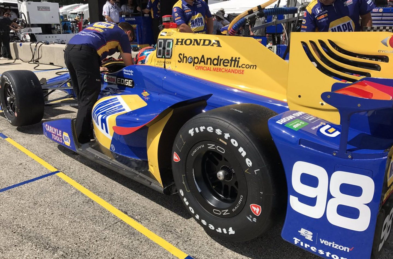 Indycar | Miglior tempo per Rossi nelle FP1 a Road America