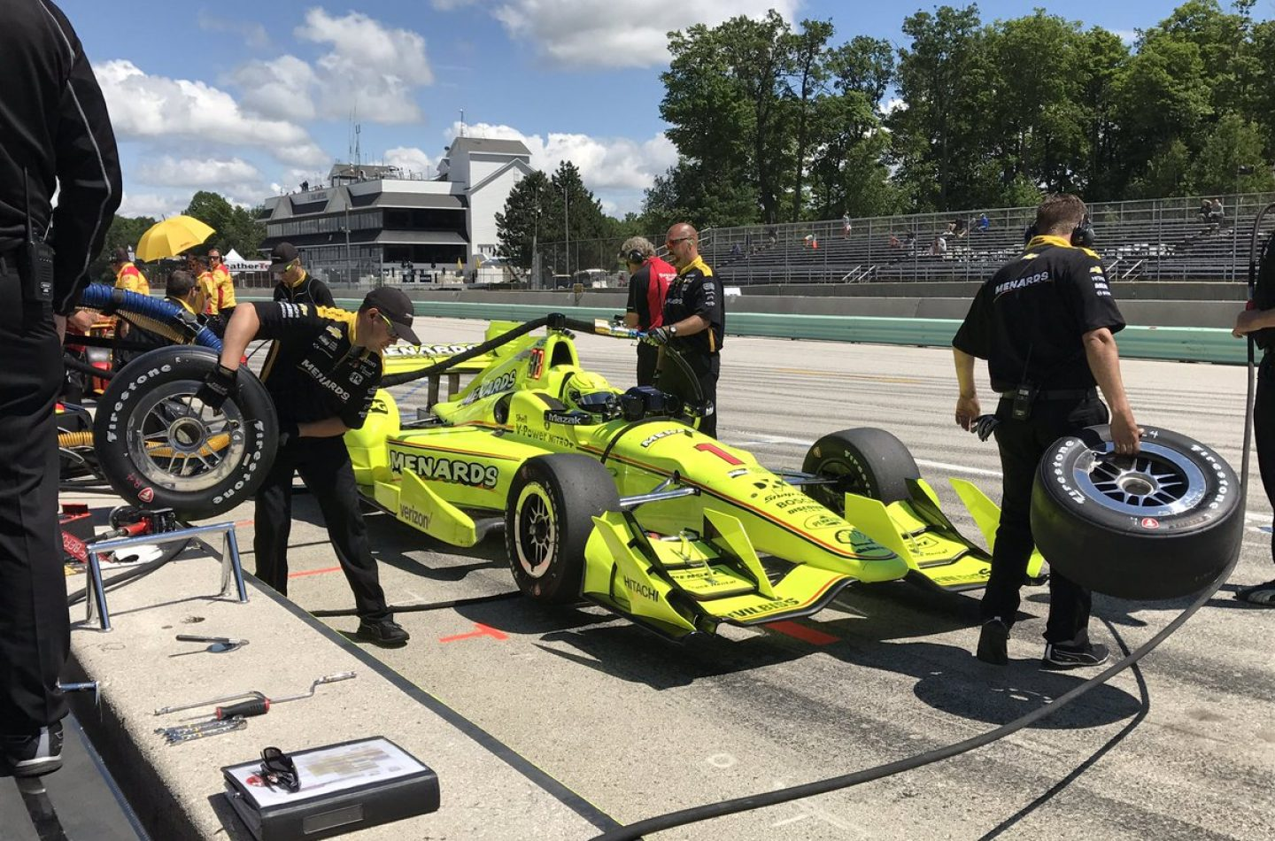 Indycar   Pagenaud primo nelle FP3 a Road America