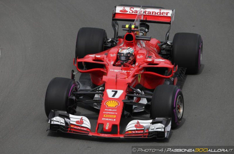 F1 | GP Canada, FP2: Raikkonen davanti a tutti, Hamilton a 2 decimi