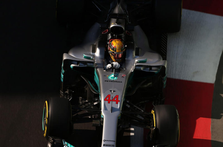 F1 | GP Azerbaijan: Pole numero 66 per Lewis Hamilton