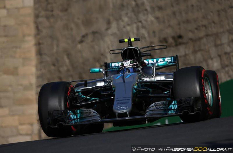 F1 | GP Azerbaijan, FP3: Bottas in testa, Kimi vicino
