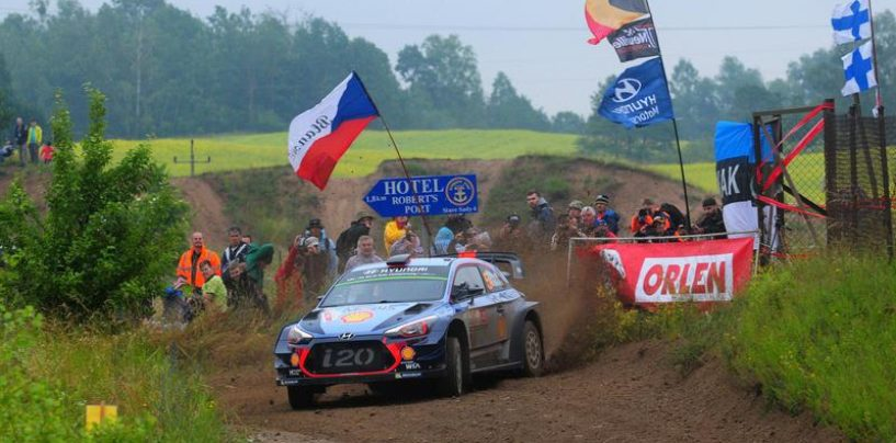 "<span class=""entry-title-primary"">WRC | Polonia: Neuville balza al comando, Ogier perde terreno</span> <span class=""entry-subtitle"">Tänak e Latvala in scia al belga, stupisce Suninen</span>"