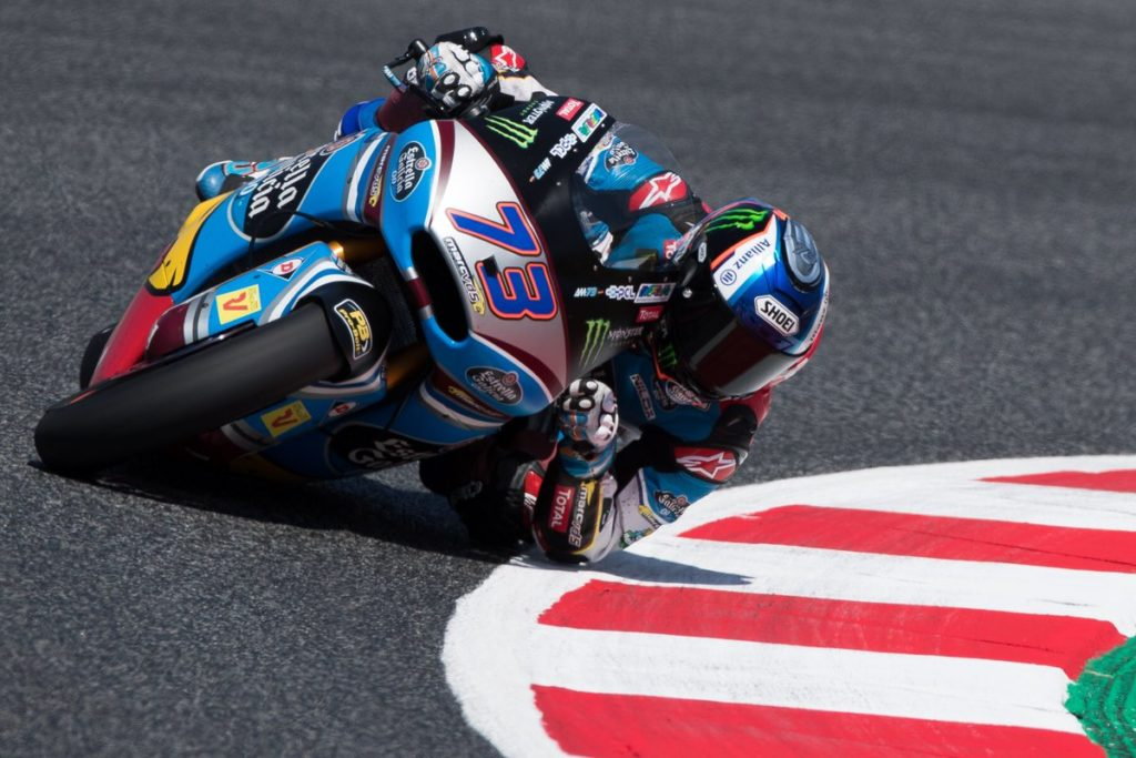 Moto2 | GP Barcellona: Marquez in pole sulla pista di casa, Pasini a ridosso di Alex