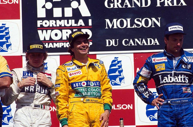 Canada 1991: l'ultima di Piquet e il podio di Modena