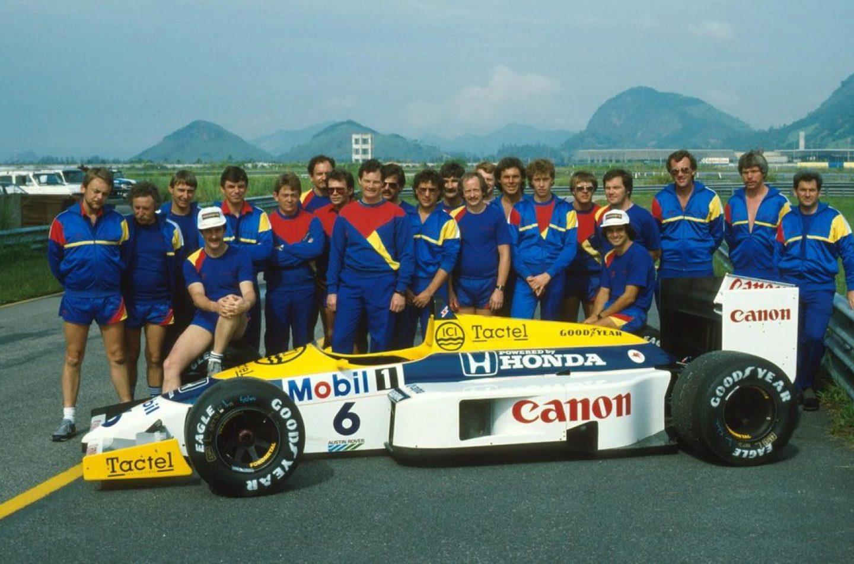 """Williams-Honda: 30 anni fa il grande """"sgarbo"""""""