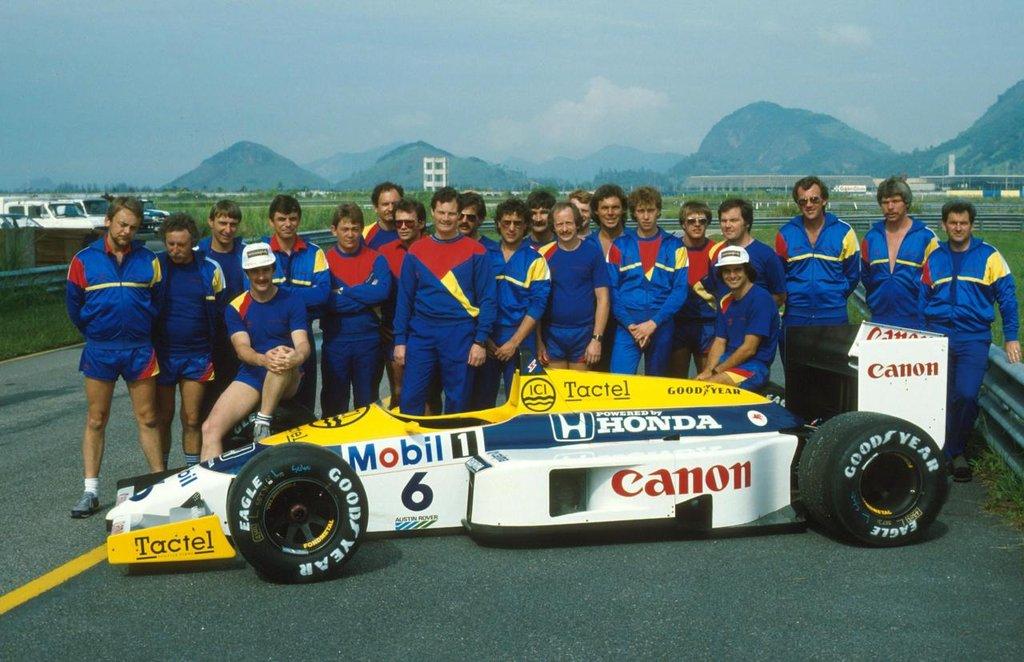 Williams-Honda: 30 anni fa il grande