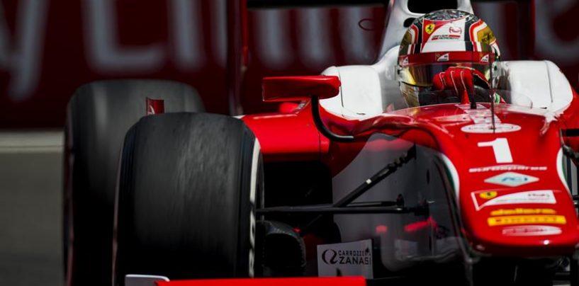 """<span class=""""entry-title-primary"""">F2   Azerbaijan: Leclerc mette tutti in riga nel caos</span> <span class=""""entry-subtitle"""">Nuovo successo per il monegasco dopo il """"battesimo"""" di Gelael al castello</span>"""