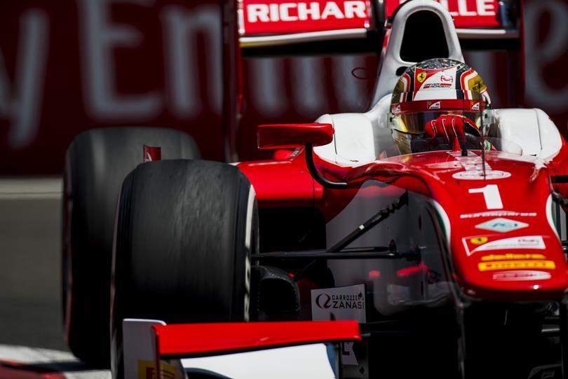 F2   Azerbaijan: Leclerc mette tutti in riga nel caos
