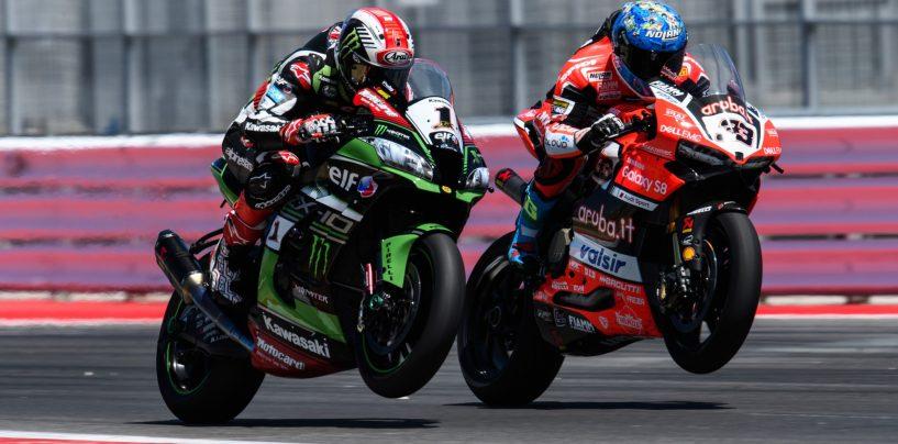 """<span class=""""entry-title-primary"""">SBK   Altra festa Ducati in terra italiana: vince Melandri!</span> <span class=""""entry-subtitle"""">Gara in rimonta dell'italiano, da decimo a primo. Grosse sfortune per i team privati</span>"""