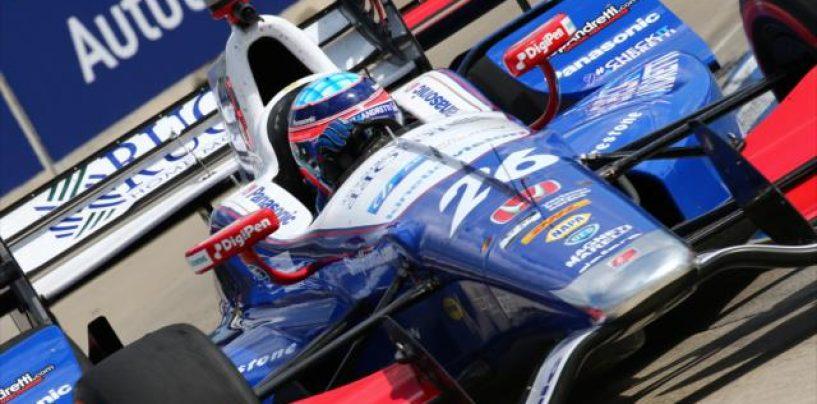 """<span class=""""entry-title-primary"""">Indycar   Takuma Sato centra la pole di gara-2 a Detroit</span> <span class=""""entry-subtitle"""">Il giapponese torna al palo dopo tre anni</span>"""