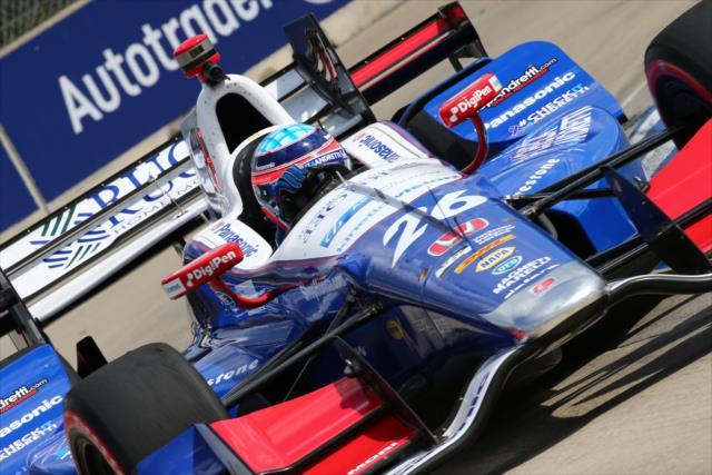 Indycar | Takuma Sato centra la pole di gara-2 a Detroit