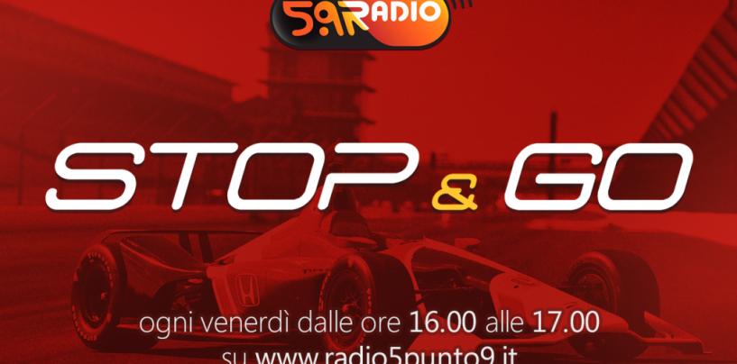 """<span class=""""entry-title-primary"""">""""Stop&Go"""" live venerdì 28 luglio alle ore 16.00 su Radio 5.9</span> <span class=""""entry-subtitle"""">La trasmissione di Passione a 300 all'ora in diretta fino alle 17</span>"""