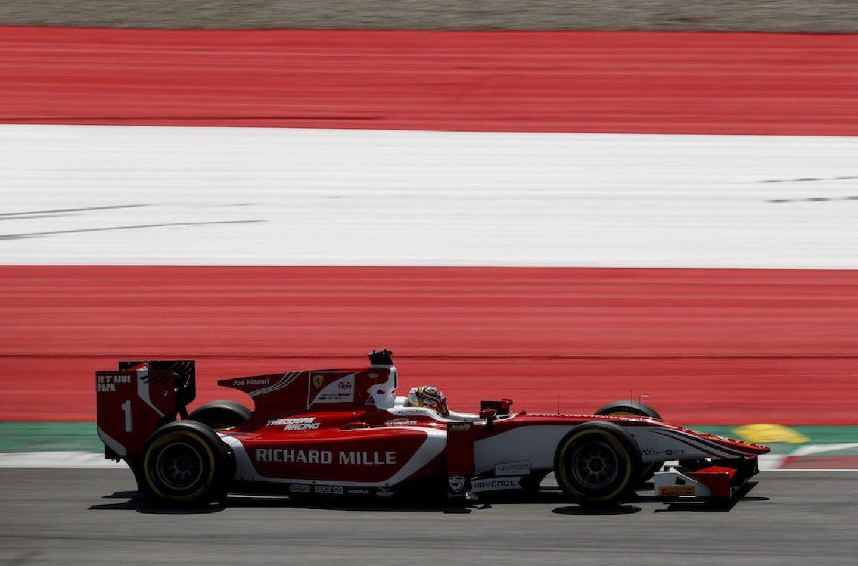 F2   Inarrestabile Leclerc, anche in Austria la pole è sua