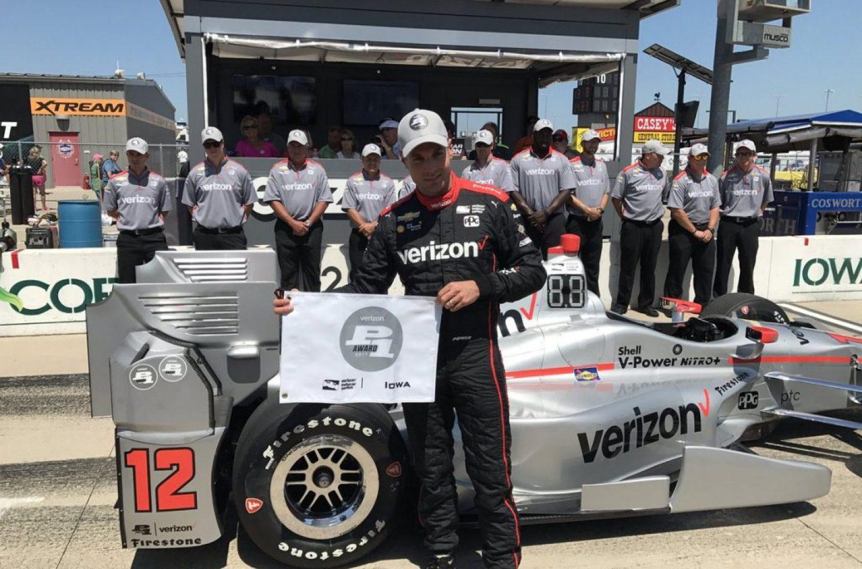 Indycar | Pole strepitosa per Will Power in Iowa